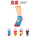 MINISO MARVEL Women's Low-Cut Socks - Captain America
