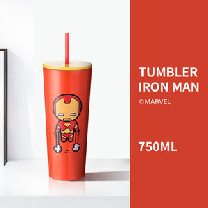 Charger l'image dans la galerie, MINISO x Marvel - Insulated Tumbler Travel Mug with Straw 25oz