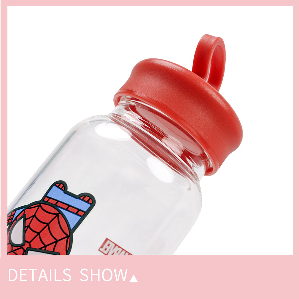 MINISO x MARVEL - Glass Water Bottle