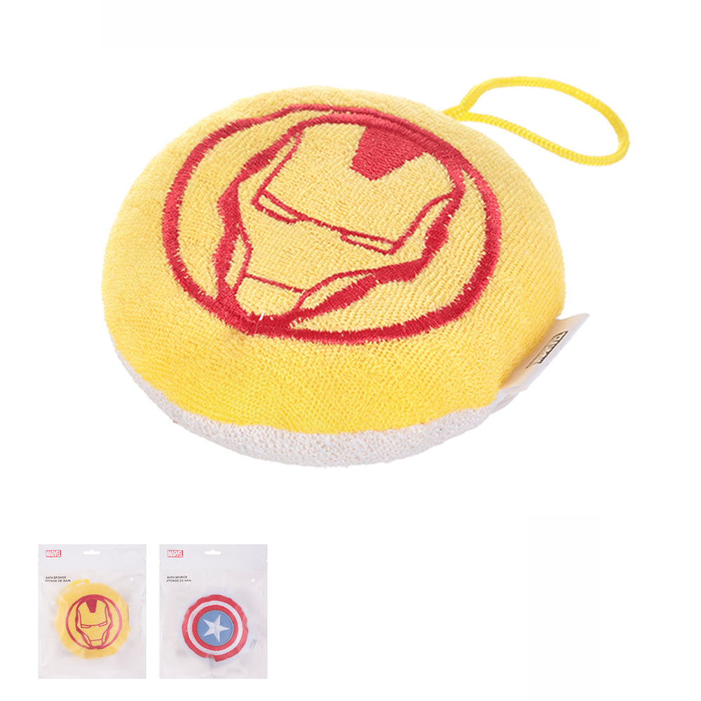 Charger l'image dans la galerie, MINISO x Marvel - Exfoliating Loofa Bath Sponge, Iron Man and Captain America, Random Color
