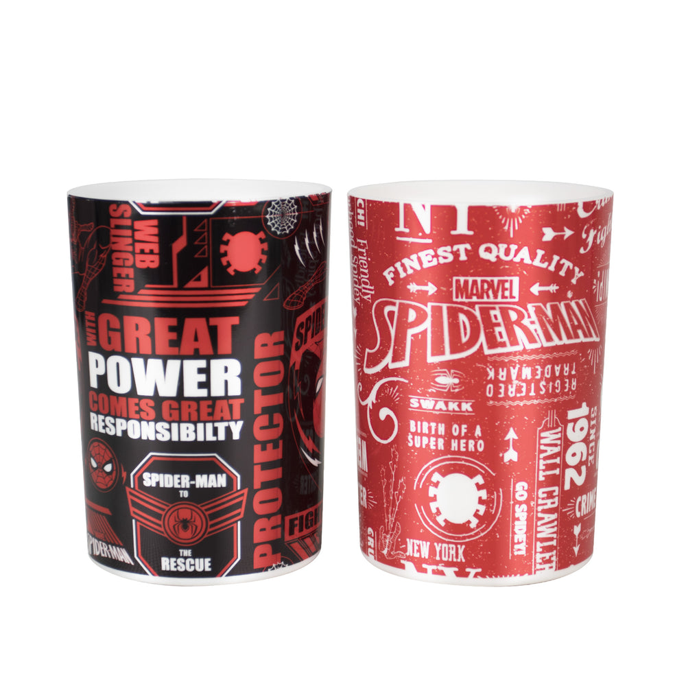 MINISO x MARVEL - Comic Washroom Cup - Spiderman