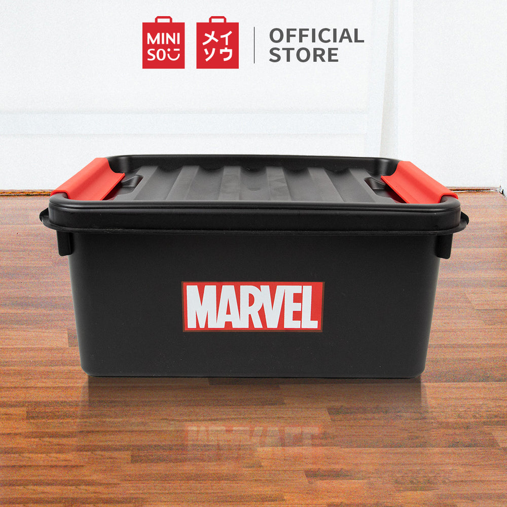 MINISO x MARVEL - Plastic Storage Organizer with Lid