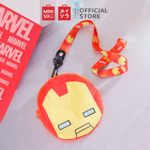 Load image into Gallery viewer, MINISO x Marvel - Plush Card Pouch Bag,Iron Man
