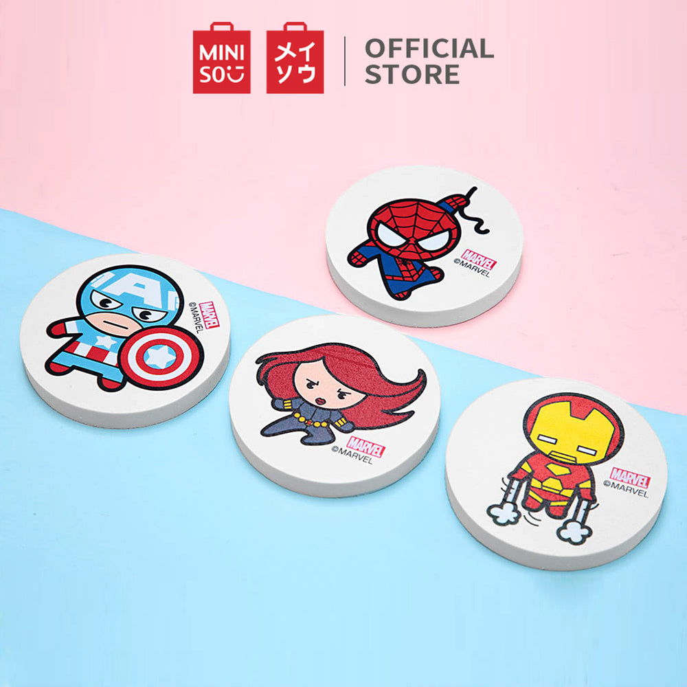 Load image into Gallery viewer, MINISO x Marvel - Round Eraser