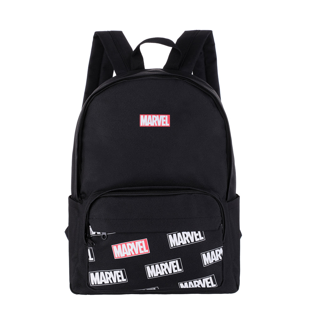 MINISO x Marvel - Backpack Comics Superhero, White & Black