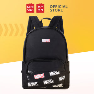 Load image into Gallery viewer, MINISO x Marvel - Backpack Comics Superhero, White & Black