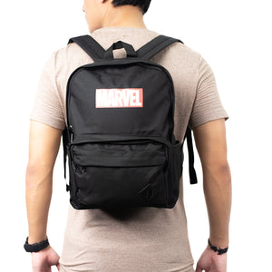 MINISO x Marvel - Backpack Comics Superhero, Black