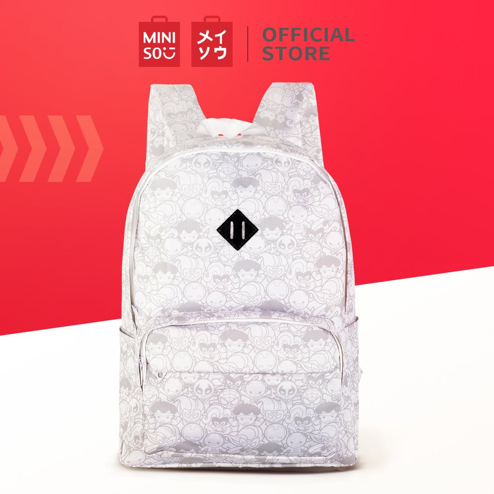 MINISO x Marvel - Superhero Comic Printed Backpack