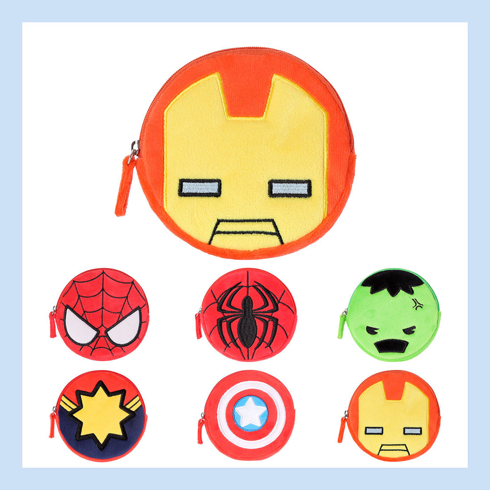 Load image into Gallery viewer, MINISO x MARVEL - Small Soft Coin Purse, Fashionable Pouch