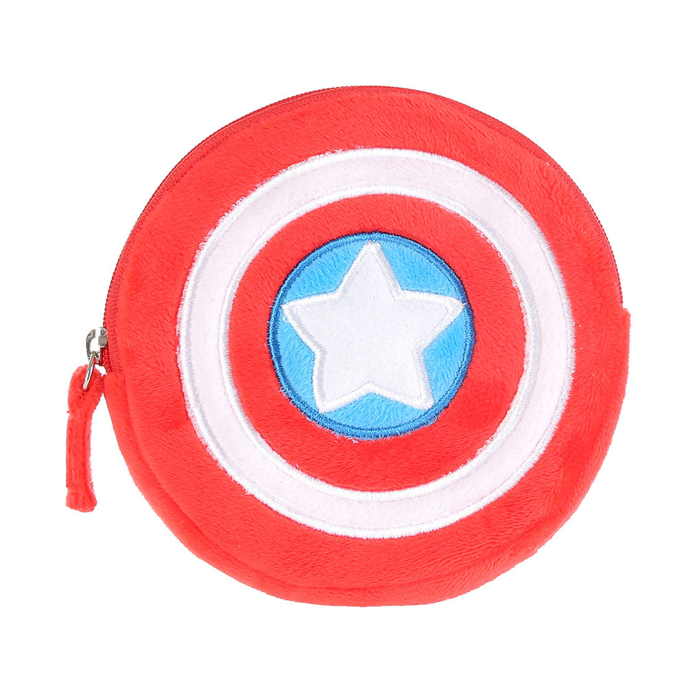 MINISO MARVEL Small Soft Coin Purse, Fashionable Pouch