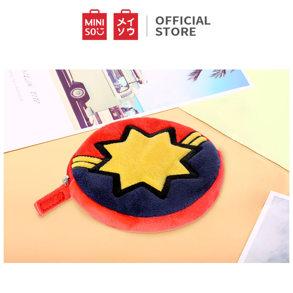MINISO x MARVEL - Small Soft Purse for Everyday Use - Captain Marvel