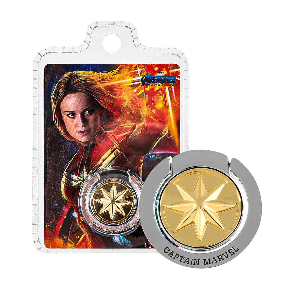 MINISO x Marvel - Mobile Phone Stand Ring - Captain Marvel