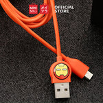 MINISO x Marvel - Micro USB Fast Charging Android Data Cable Type C 1m