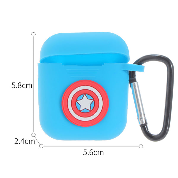MARVEL Silicone Protector for Airpods (Captain America)