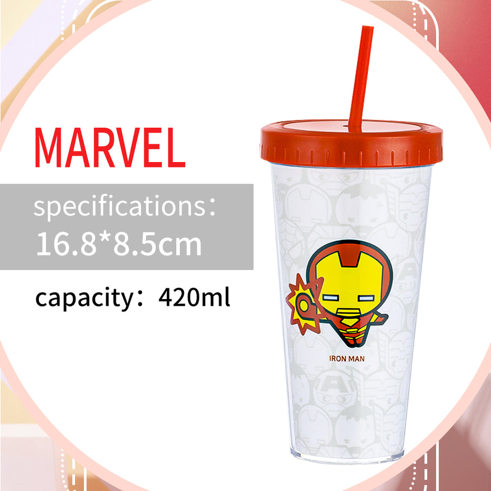 Load image into Gallery viewer, MINISO MARVEL Tumbler,Iron Man