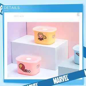 MINISO x Marvel - Rectangle Bento Lunch Box 400ml