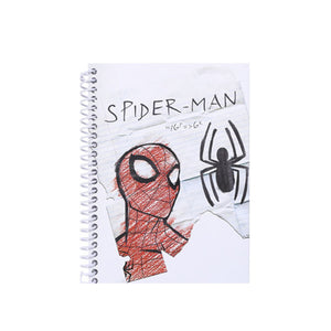 Charger l'image dans la galerie, MINISO x Marvel - Cartoon Notebook Wirebound Book 70 Sheets, Medium