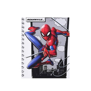 MINISO x Marvel - Cartoon Notebook Wirebound Book 80 Sheets, Small
