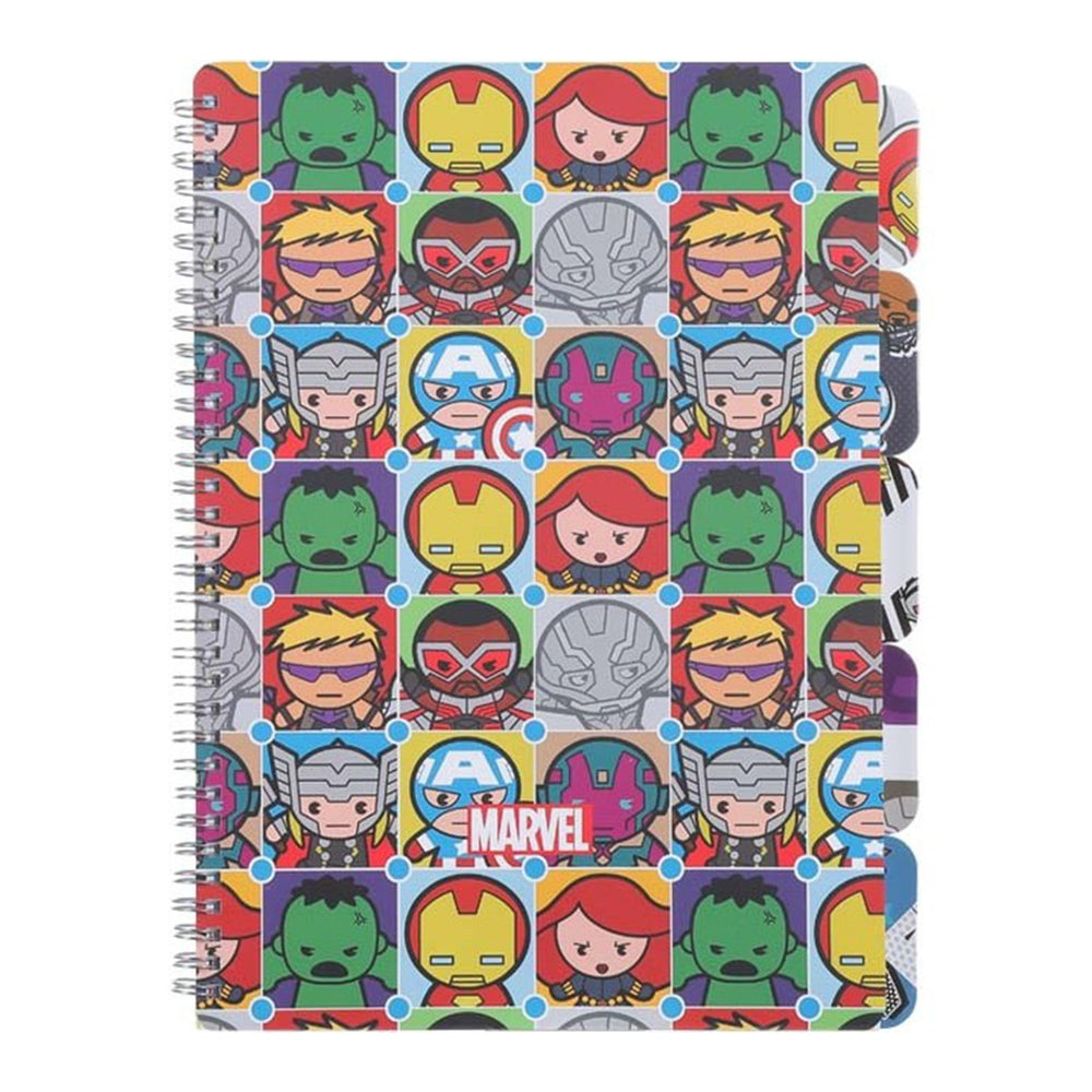 Load image into Gallery viewer, MINISO x Marvel - Wirebound Book A4 Memo Book, 60 Sheets