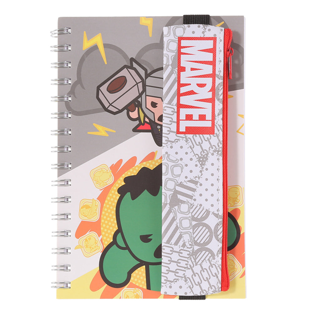 MINISO x Marvel - Wirebound Book A5 Memo Book, 60 Sheets