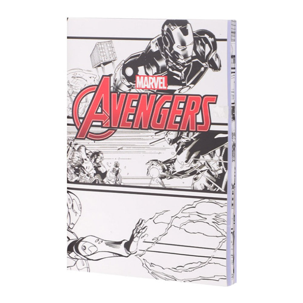 MINISO x Marvel - Small Stitch Bound Memo Book 40 Sheets (3 Pack)