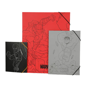 MINISO x Marvel - 3PCS Hanging File Folders Set, Spider-Man