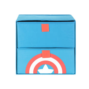 Load image into Gallery viewer, MINISO x Marvel 2-drawer Foldable Organizing Box