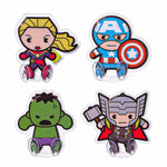 MINISO x Marvel - Cartoon Marvel Characters Wall Hook Set of 4