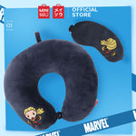 MINISO MARVEL U-shaped Neck Pillow & Eye Mask