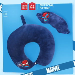 Load image into Gallery viewer, MINISO x MARVEL - U-shaped Neck Pillow & Sleeping Eye Mask