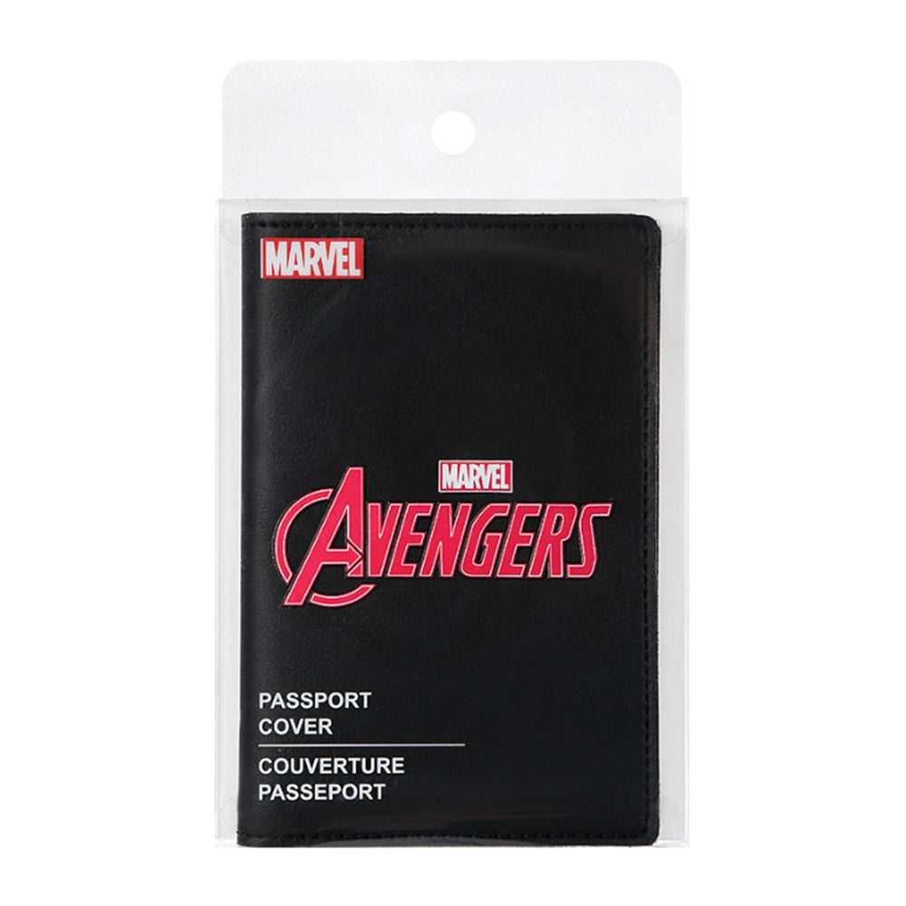 MINISO x Marvel - Passport Holder Travel Wallet Cover with Logo