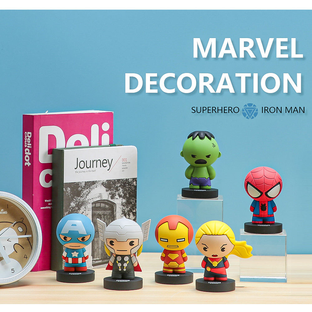 MINISO x Marvel - Cute Super Hero Action Figures