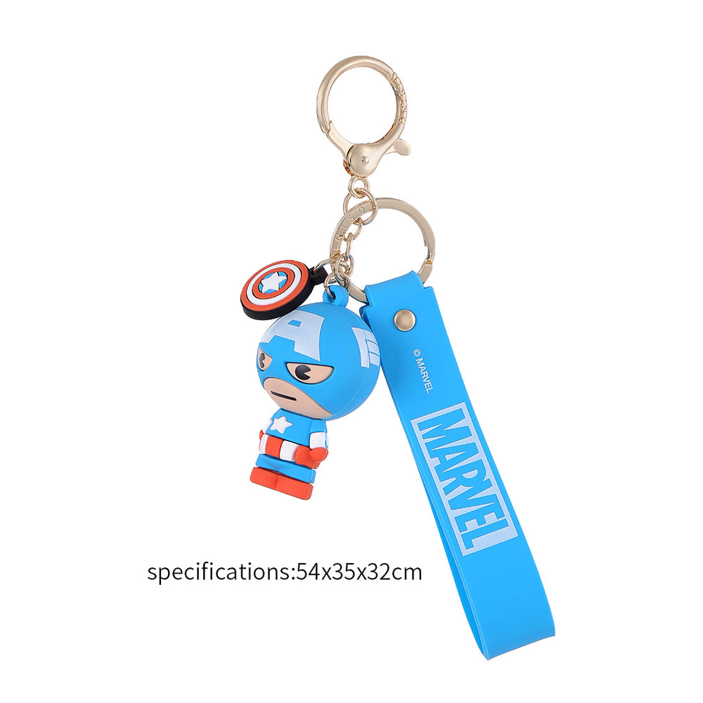 MINISO Avengers Marvel Keychain Collection Pendant - Captain America