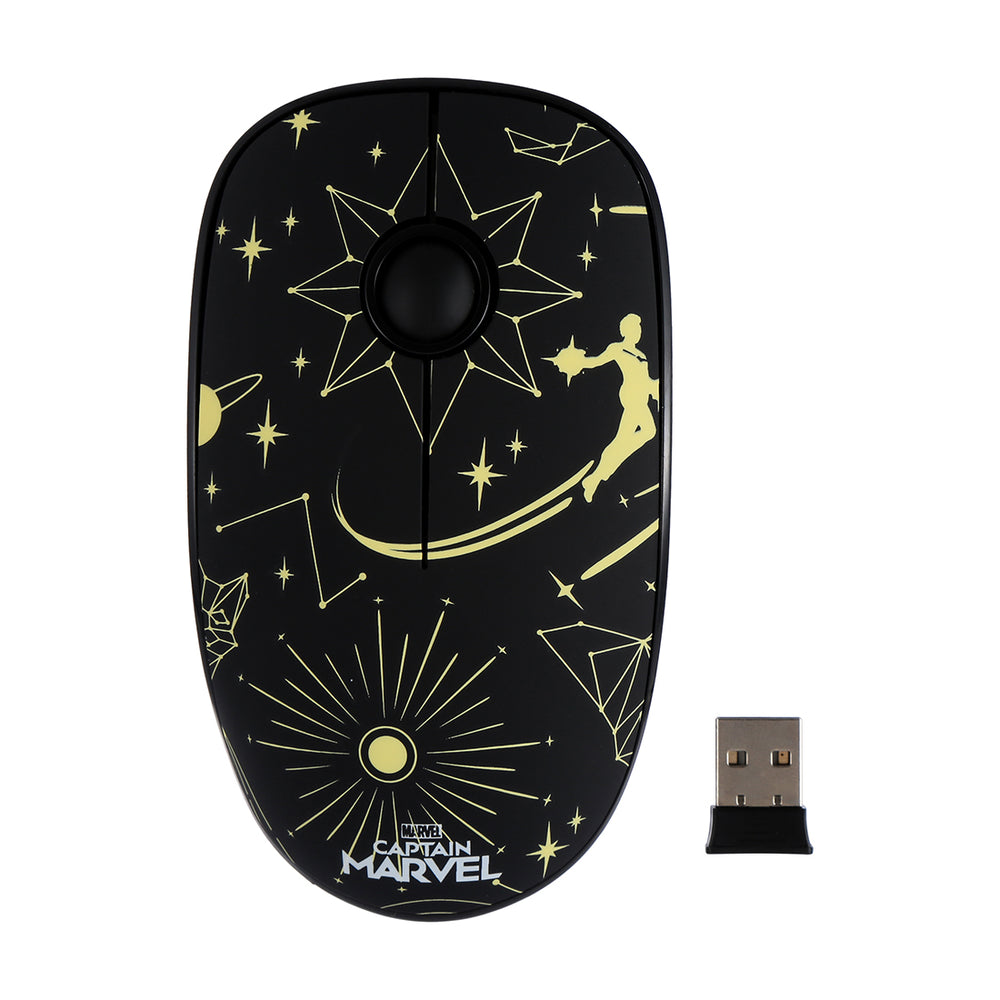 MINISO x Marvel - Ultrathin Wireless Mouse with Nano Receiver for Laptop Computer