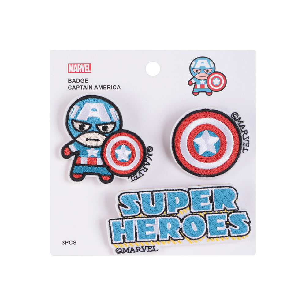 MINISO x Marvel - 3 Pieces Avengers Sew On Embroidered Patch