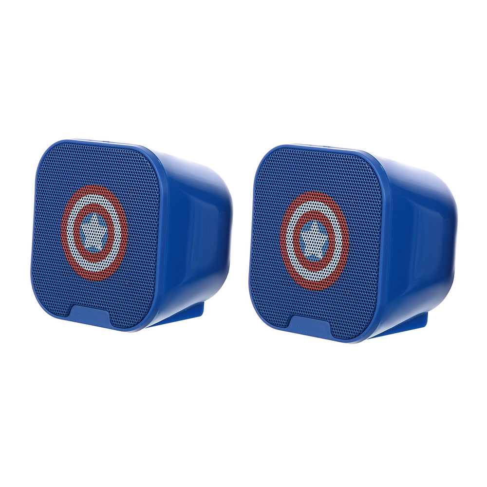 MINISO x Marvel - Wired Speaker USB-Powered PC Computer Speakers