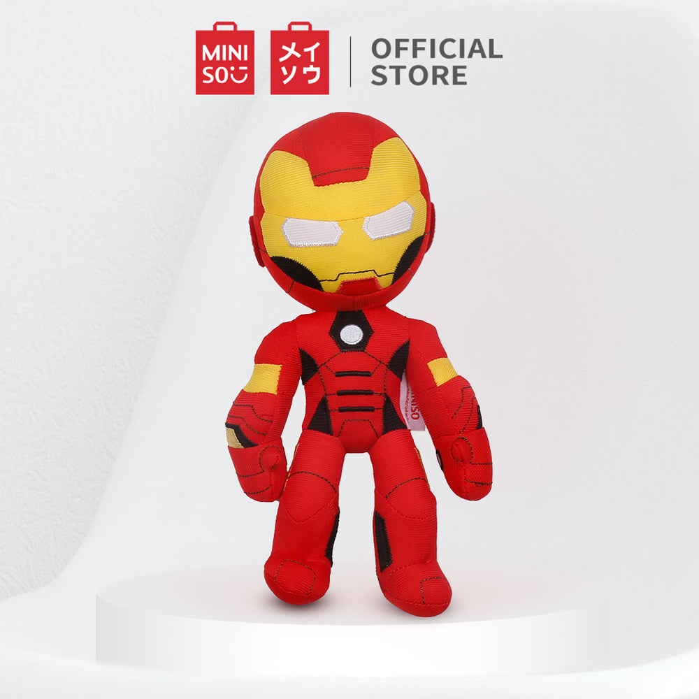 MINISO x Marvel - Soft Plush Toy - Iron Man (Red)