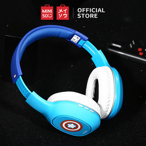 MINISO x MARVEL Wireless Bluetooth Over-Ear Headphones - Captain America