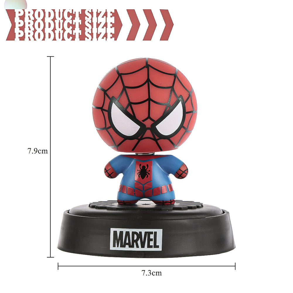MINISO Marvel Characters Shaking Head Car Air Freshener(Ocean)