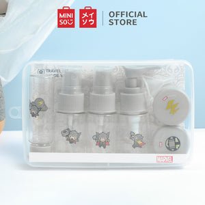 MINISO x Marvel - Plastic Multipurpose Refillable Bottles and Jars Set (8pcs) - Thor