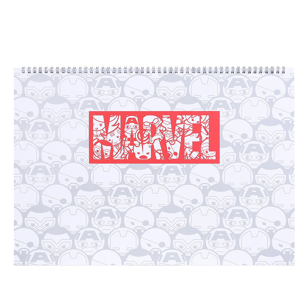 MINISO x Marvel - A3 Sketch Book D