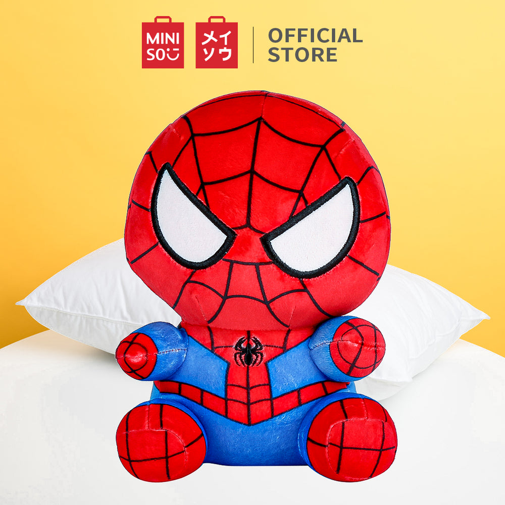 MINISO x MARVEL - Spiderman Plushie (Red Blue)