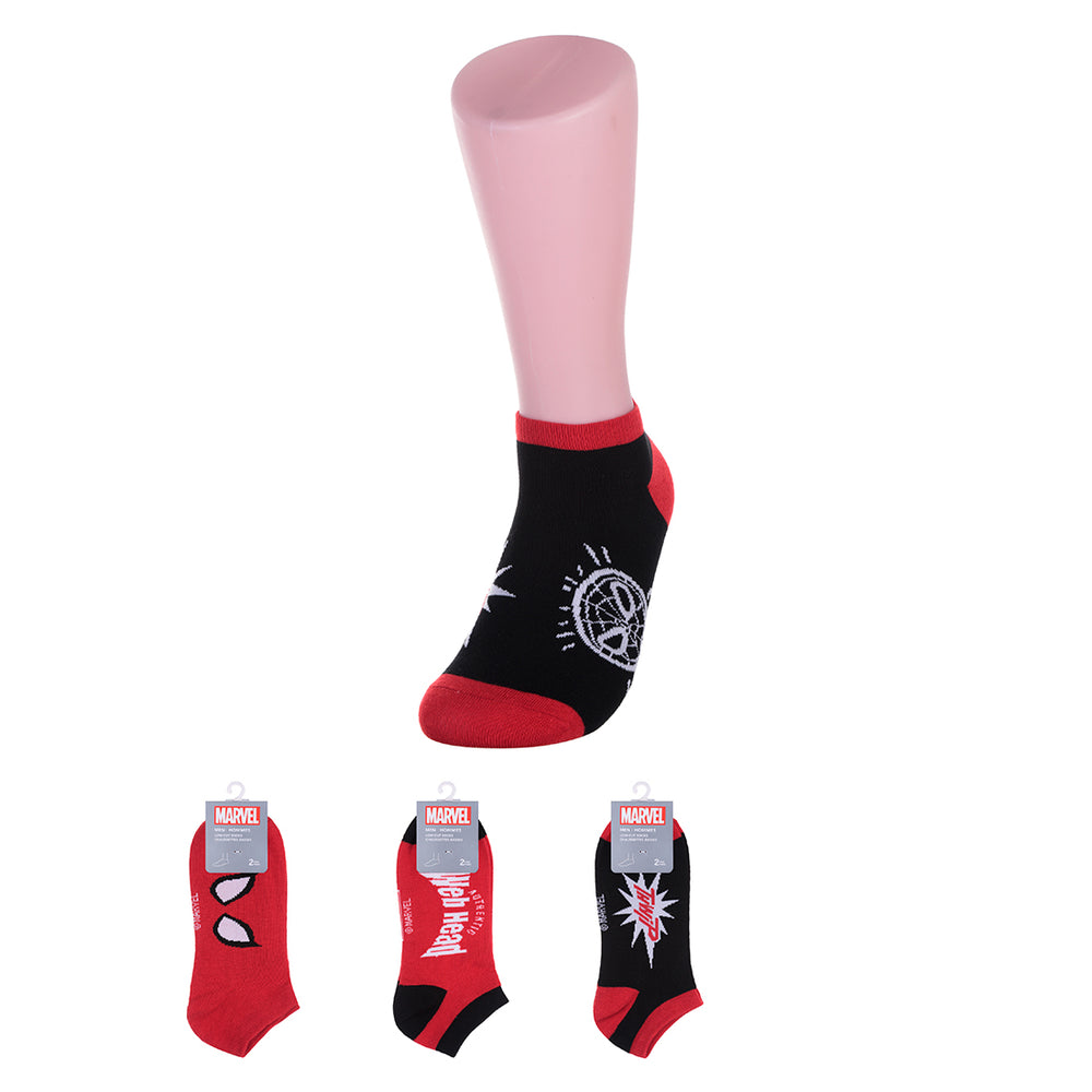 MINISO x Marvel - Men's Low-cut Socks - Deadpool
