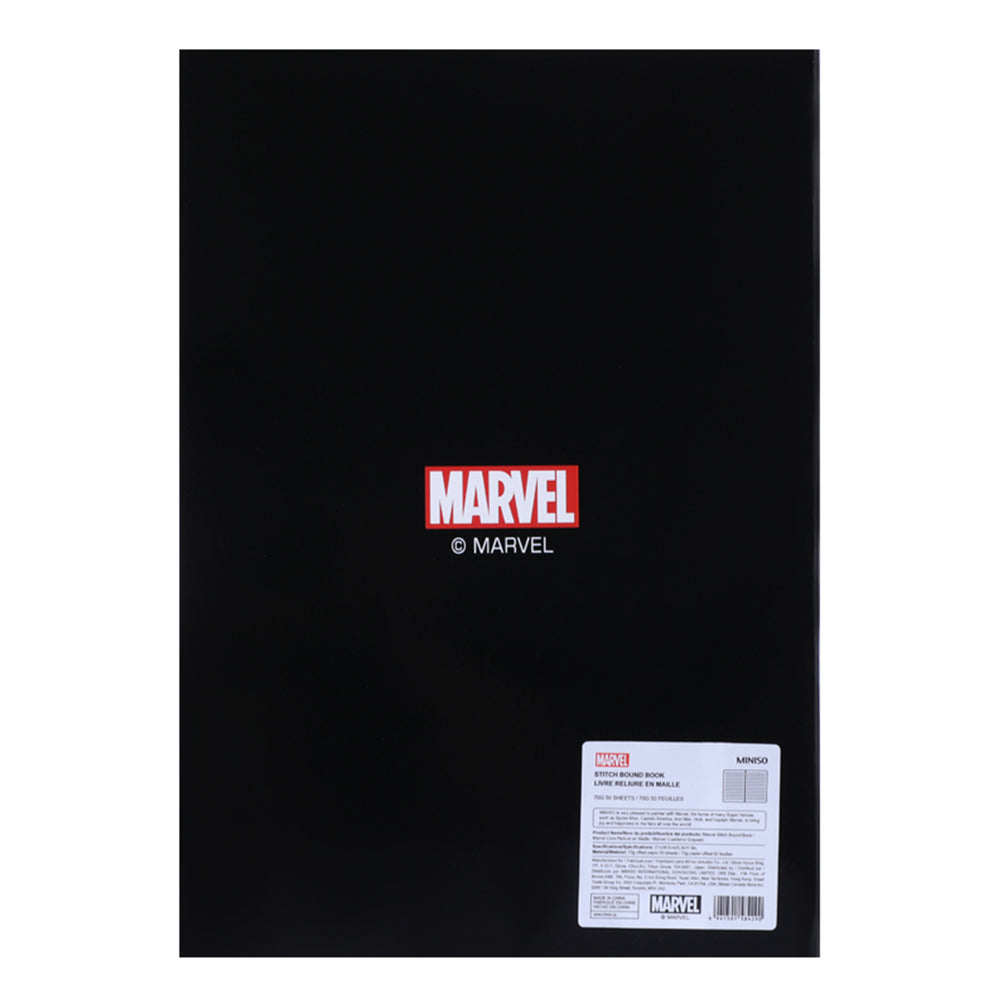 MINISO x Marvel - Stitch Bound Book Notebook, Large
