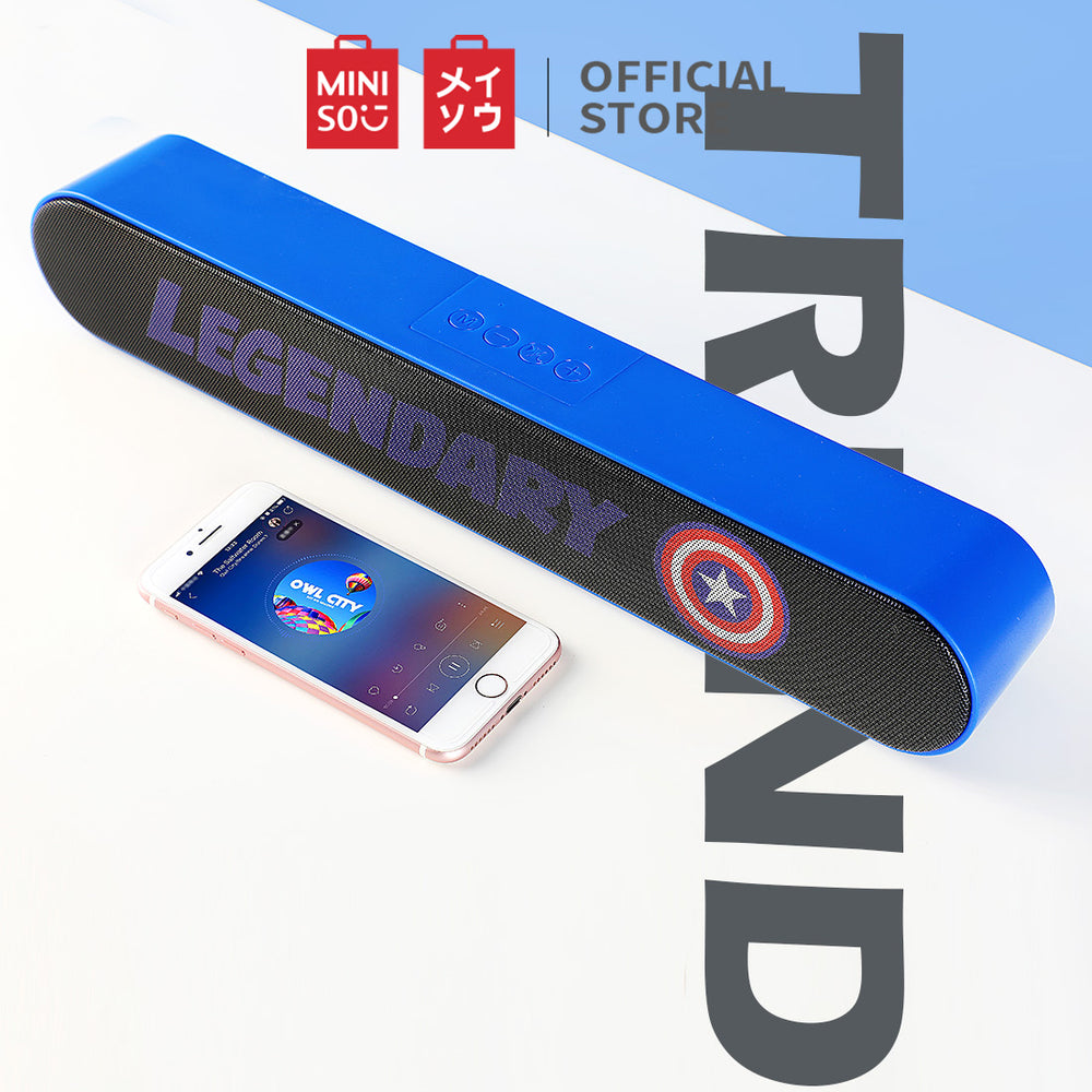 MINISO x MARVEL - Wireless Bluetooth Portable Outdoor Speaker