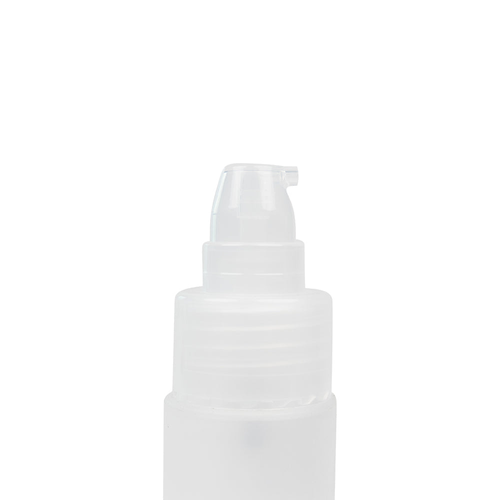MINISO Simple Portable Clear Plastic Spray Travel Bottle, 50ml