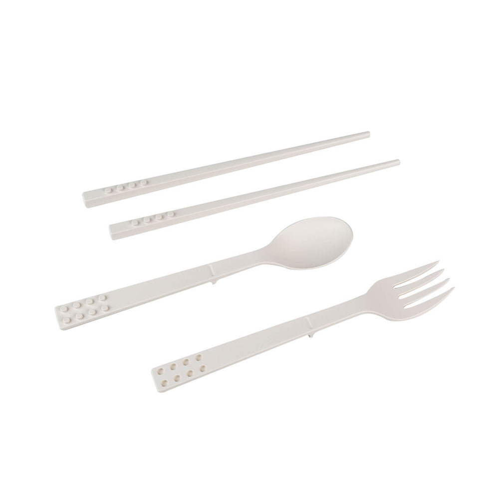 MINISO Portable Plastic Cutlery Set