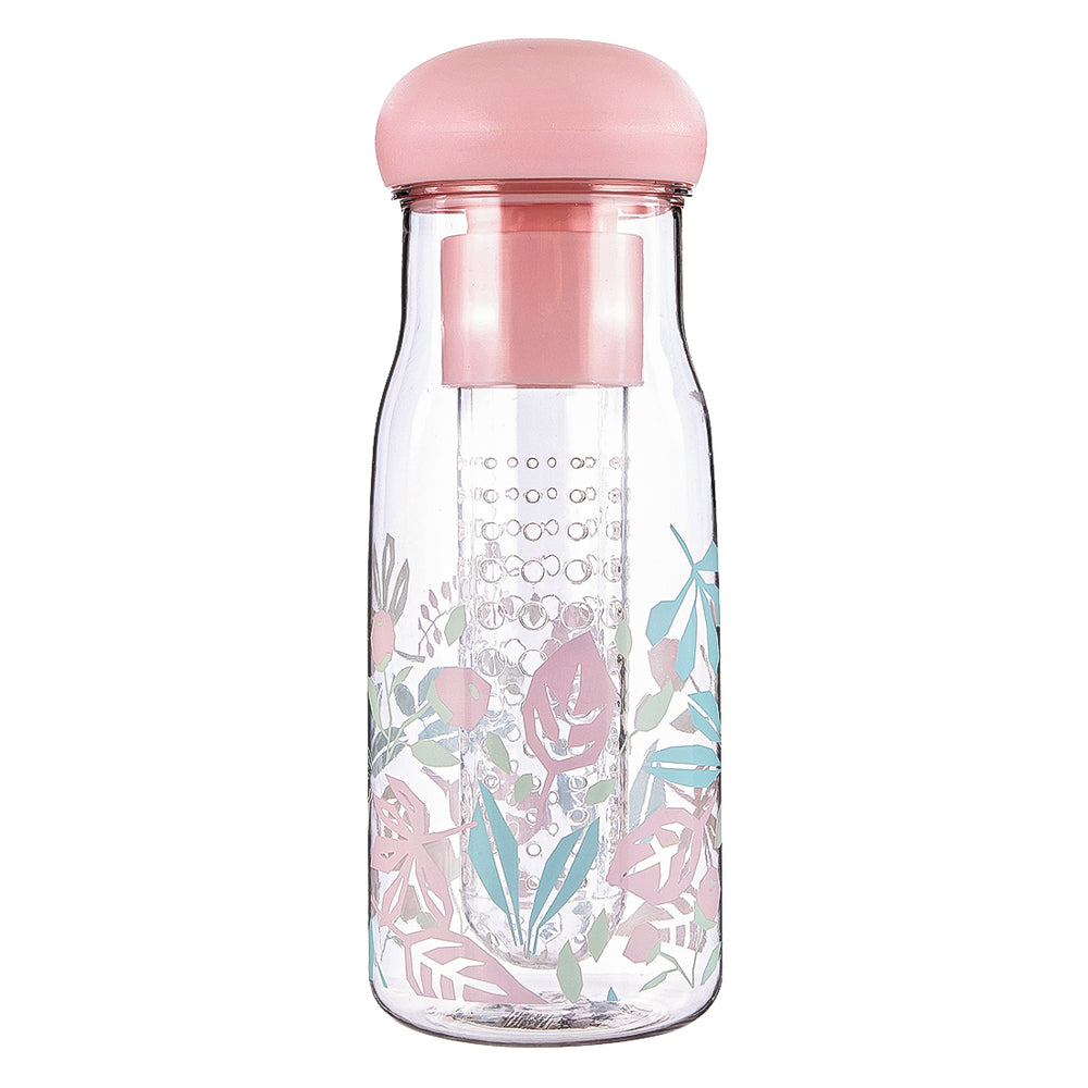 Charger l'image dans la galerie, MINISO Flower Series- Plastic BPA-free Water Bottle 680ml (Pink)