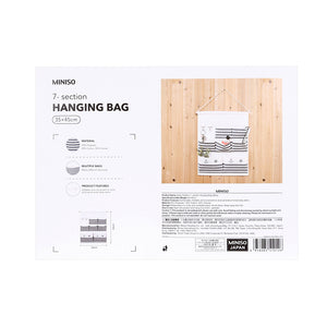 MINISO Sailor Pattern 7-section Hanging Multipurpose Organizer