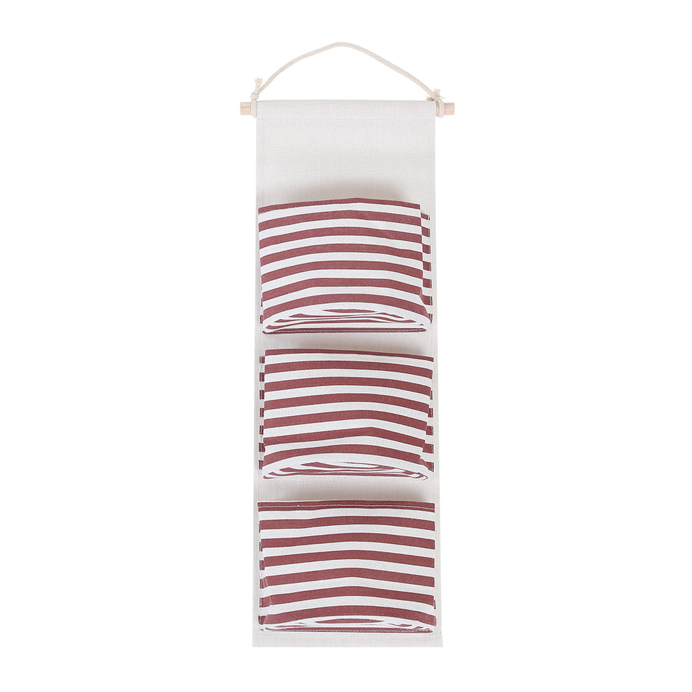 MINISO Sailor Pattern 3-section Hanging Multipurpose Organizer